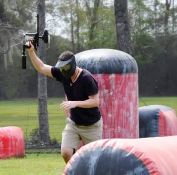 Low Impact Paintball Parties East Of Baton Rouge Louisiana