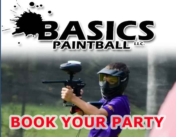 Book a paintball party